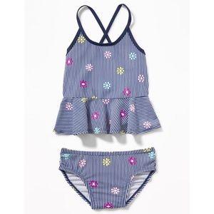 OLD NAVY Baby Toddler Girls Swim Bathing Suit 3T